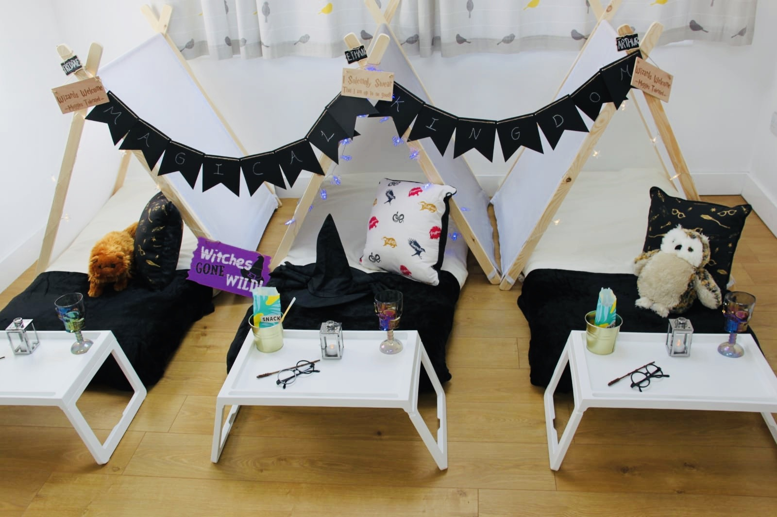 Luxury Glampovers & Children's Sleepover  Moon Dreamers