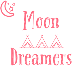 Moon Dreamers – Luxury Glampovers Logo