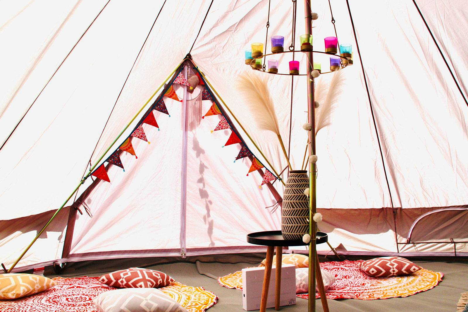 Bell Tent Hire in East Sussex & Kent  Moon Dreamers