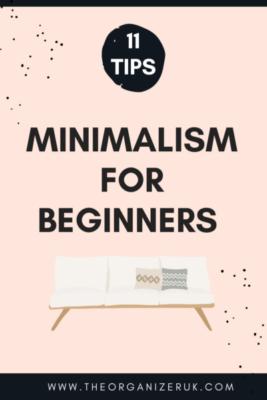 minimalist decluttering