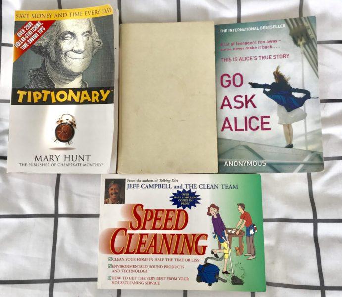 my minimlaist book collection