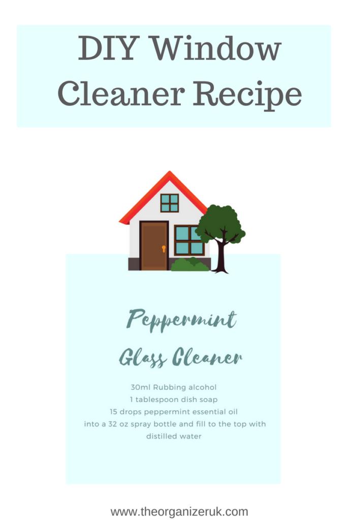 streakless window cleaning recipe