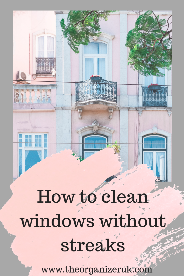How to get sparkling clean windows every time.