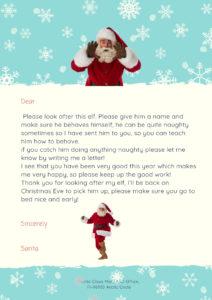 boy elf on the shelf goodbye letter