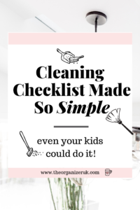 Housework routine so simple even your kids can do it!