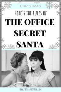 secret Santa rules