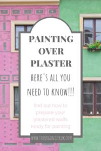 painting onto plaster walls
