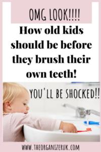 kids brushing teeth