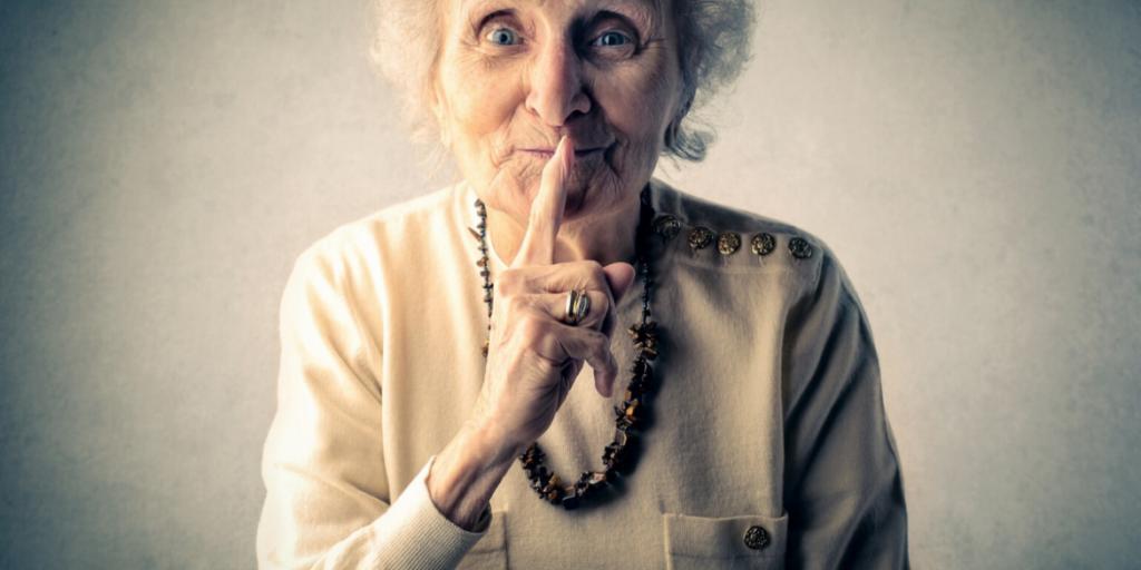 grandma shhhh!