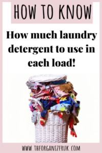 how much detergent to use