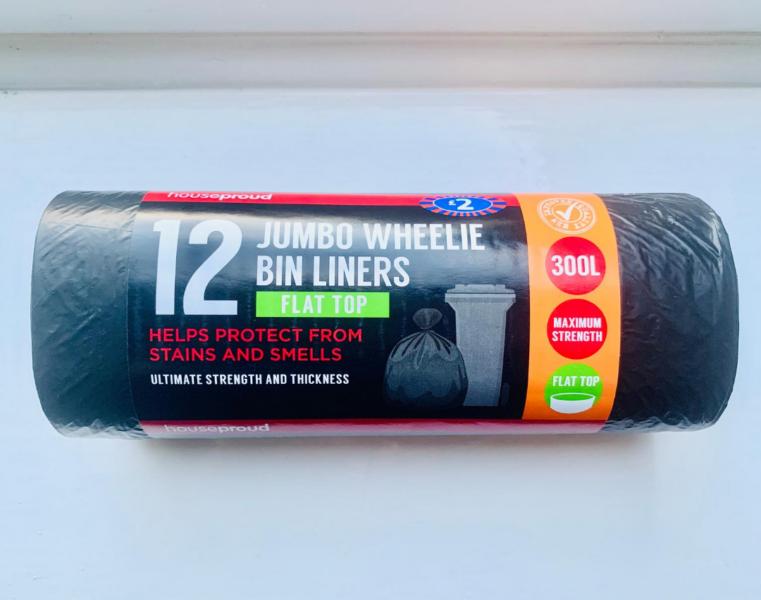 wheelie bin liners