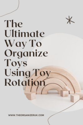 How to organize toys using toy rotation