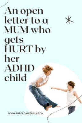 aggressive adhd child