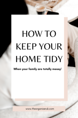 a tidy home