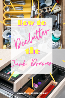 how to declutter the junk drawer