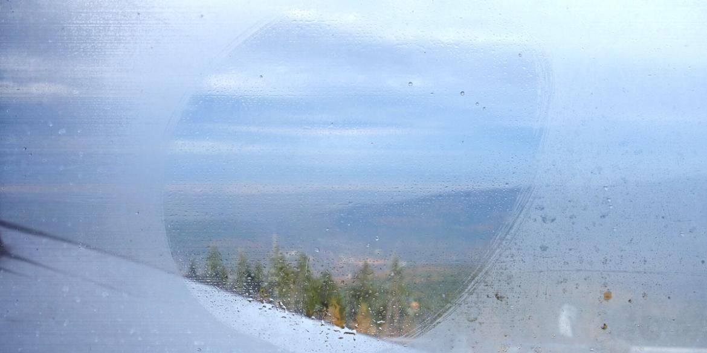 car window fogging up