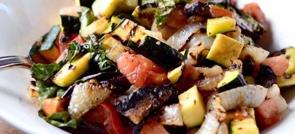 Gegrilde Groenten Salade (v) (vg)