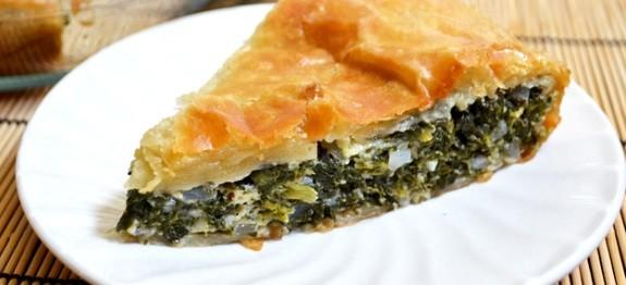 Spanakopita, Greek Spinach Pie (v)