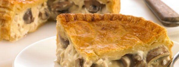 Mushroom Pie (v)
