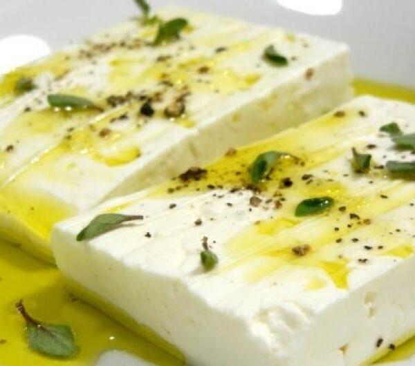 Feta kaas met oregano (v)