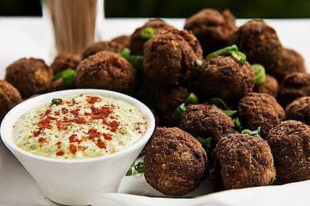Keftedakia, Beef Meatballs with Herbs