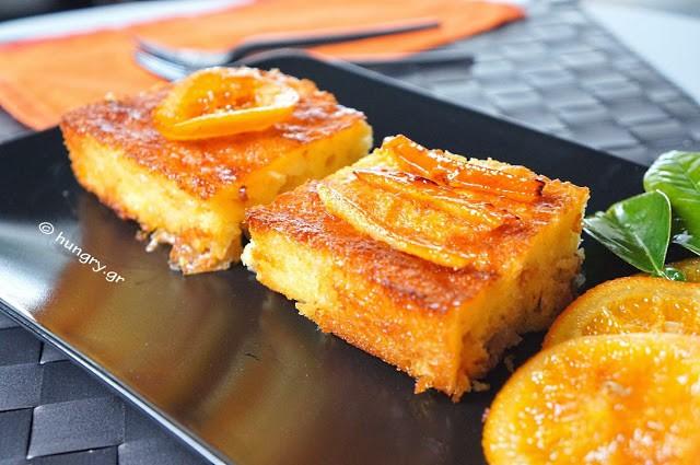 orange cake portokalopita