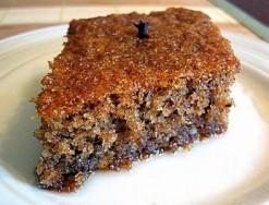 Karidopita, walnut cake (v)
