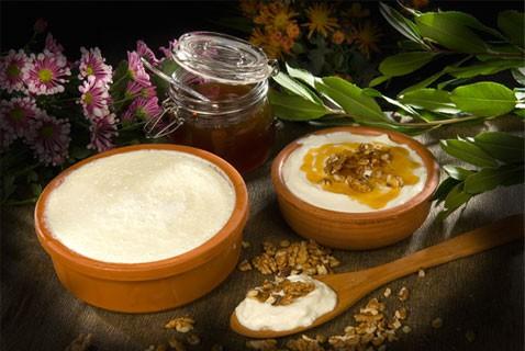 yoghurt with honey