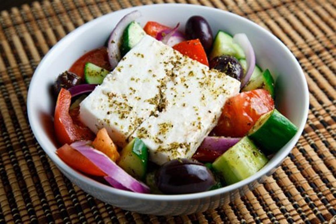 Greek Horiatiki salad