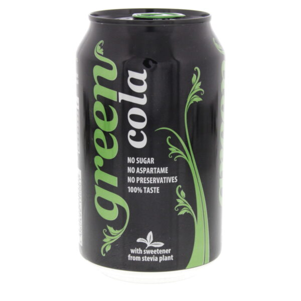 GREEN COCA-COLA WITH STEVIA