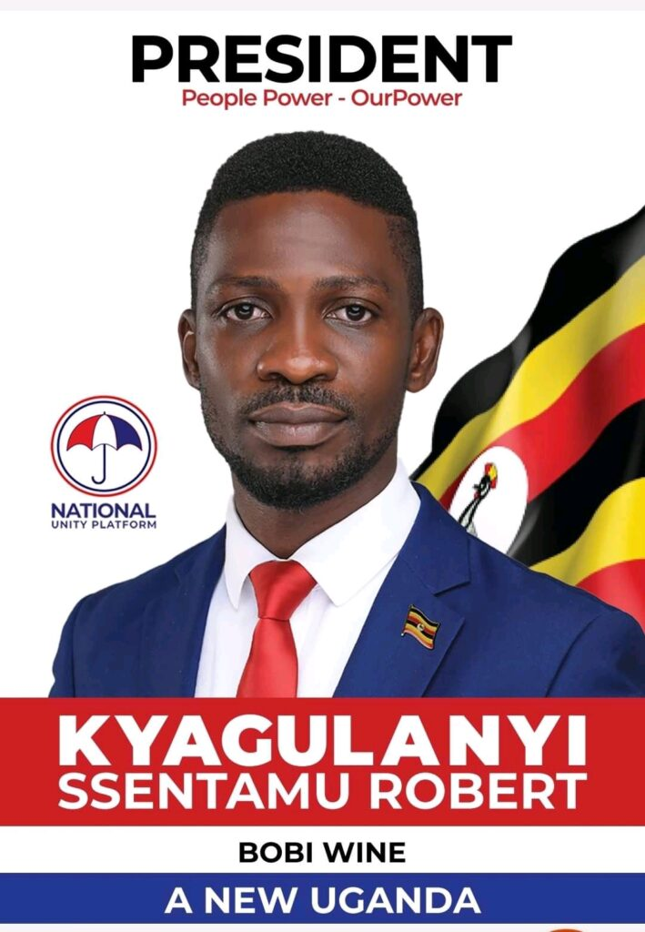 Hon. Kyagulanyi's signatures ahead of presidential nominations