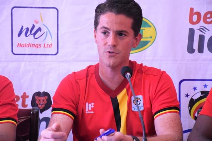 Uganda Cranes coach, Jonathan Mckinstry sacked