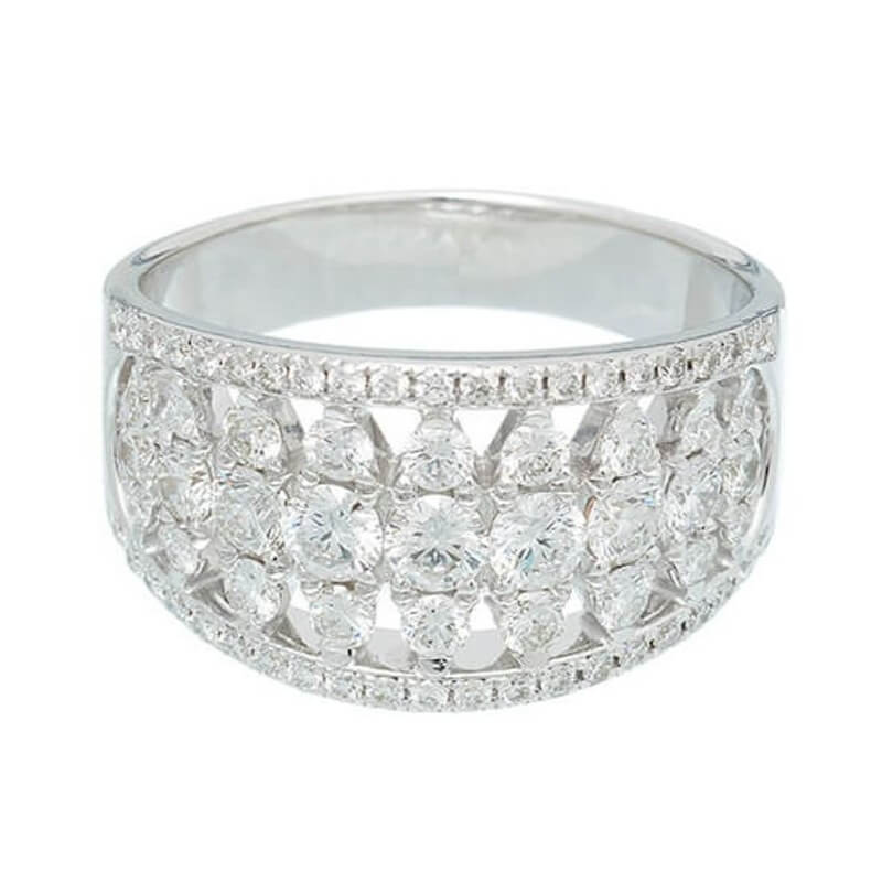ADIRASemi Eternity Ring | 1.50 ct.
