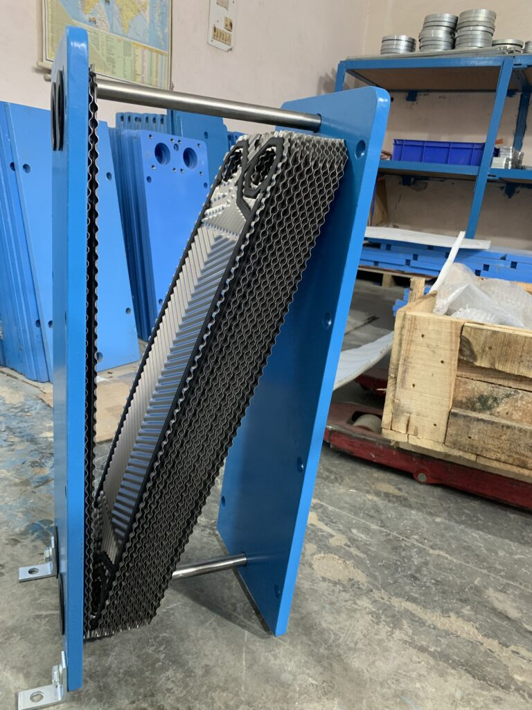 VARALKA HEAT EXCHANGER SERVICED AND PACKED