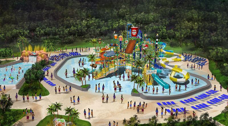 Kings Dominion Soak City Water Park