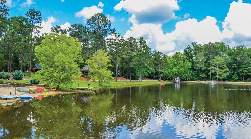 Lake at Sycamore Lodge, Jackson Springs, NC
