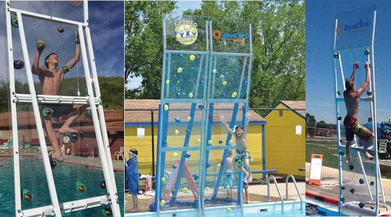 Spectrum Aquatics AquaClimb® – Pool Climbing Walls