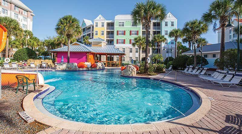 Calypso Cay Resort, Orlando, Florida, managed by Capital Resorts.