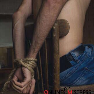 Bondage Training For Men