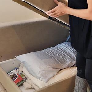 Ikea Friheten Couch with storage