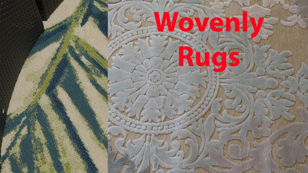 Wovenly rugs 2 pictured