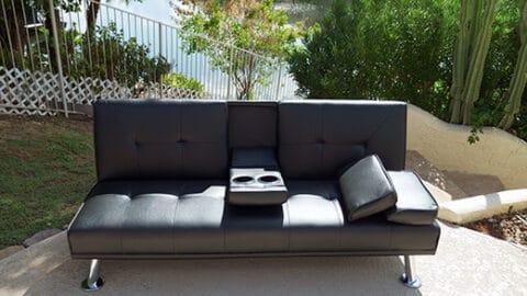walmart futon