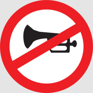 reduce Noise pollution no Horn