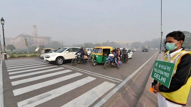 Traffic During Odd-even rule in Delhi