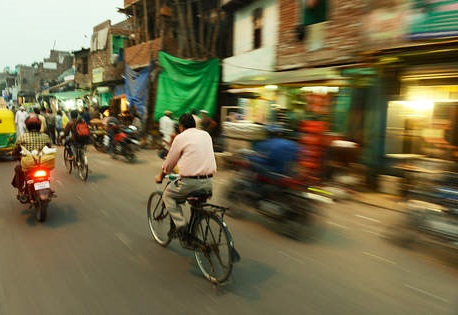 Ways to go Green at office - Cycling to office