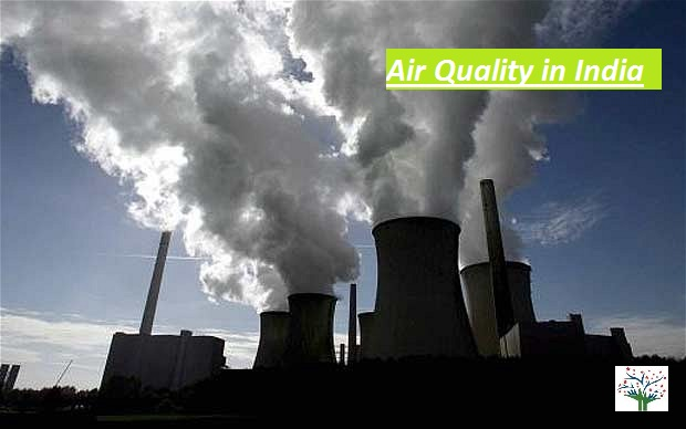 Air quality in India - Industrial Smoke