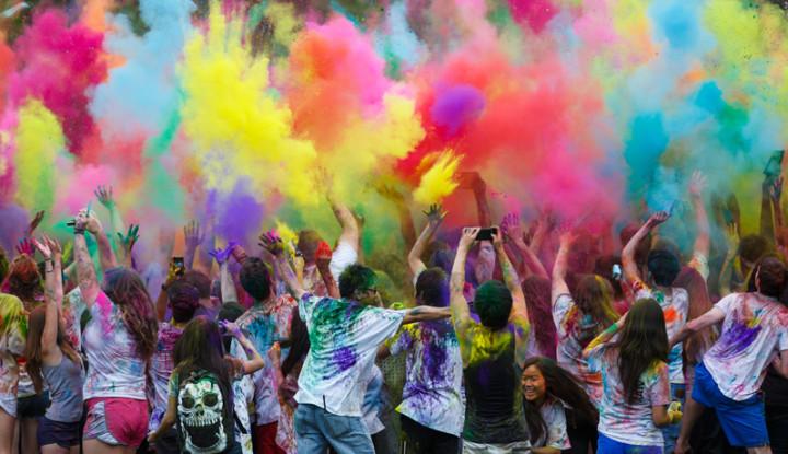 Effects of Holi festival