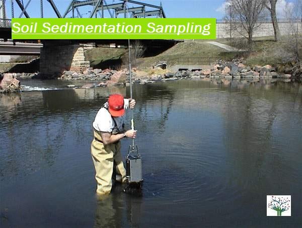 lake soil sediment sampling Method