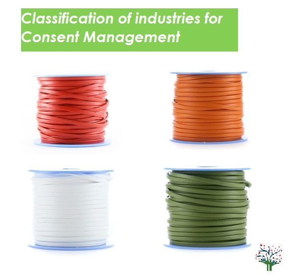 Classification of Industries for Consent Management