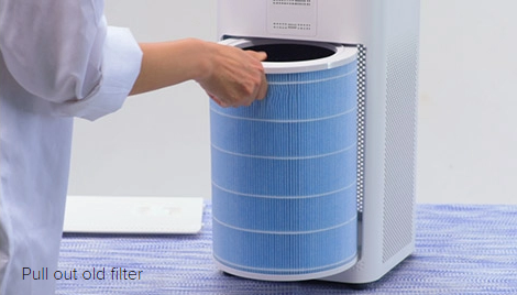 Air-Purifier-filter-change - Air Purifier for Home & Its Benefits